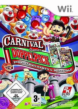 Carnival Games Doppelpack Jahrmarkt Party Minigolf Amazon De Games