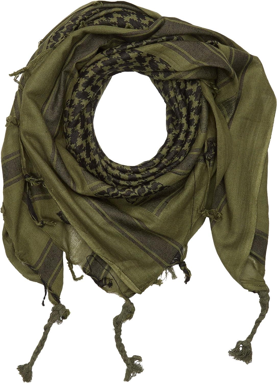 Shemag bufanda de cuello, Palestina, Oliva/Negro: Amazon.es: Jardín