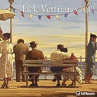 2019 Jack Vettriano Grid Calendar