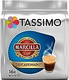 Tassimo Marcilla - Café Descafeinado, 16 Cápsulas