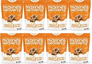 product image for Maxine's Heavenly 7.2 oz Cookie Bags Parents (Peanut Butter Chocolate Chunk, 8 Pack)
