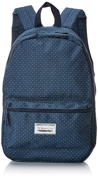 D.franklin REAL ASTRACT BACKPACK, Sacs à dos mixte adulte, (Negro), 16x31x45 cm (W x H L)
