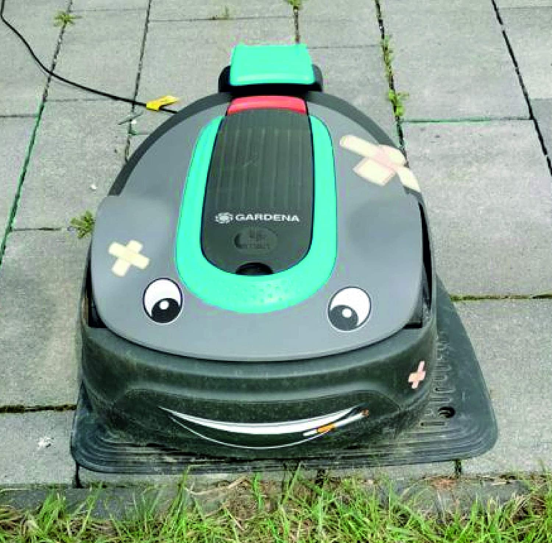 2 x Ojos adhesivos para robot aspirador, robot cortacésped, robot ...