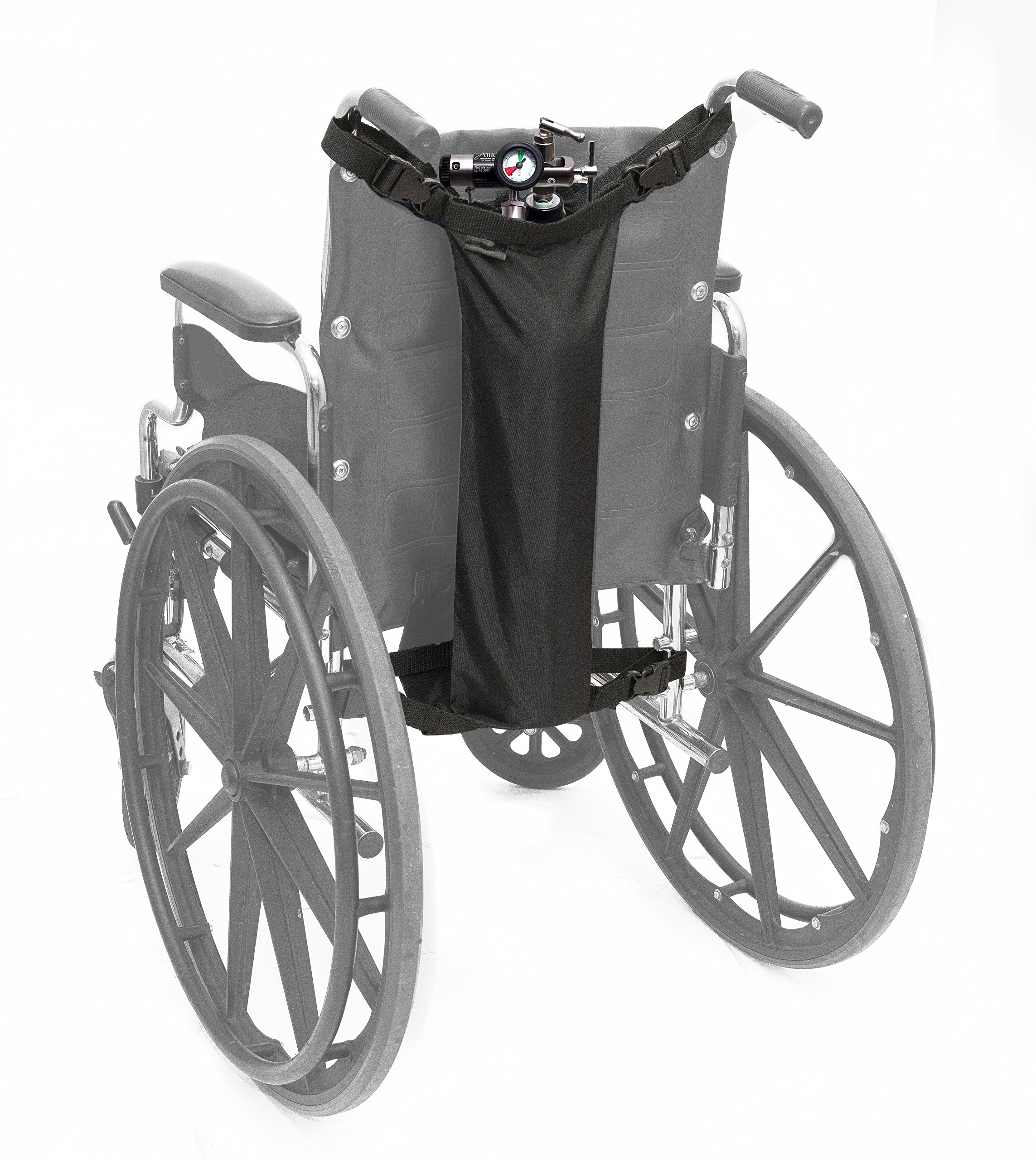 AdirMed Oxygen Cylinder Bag for Wheelchairs (D & E Cylinders) by AdirMed