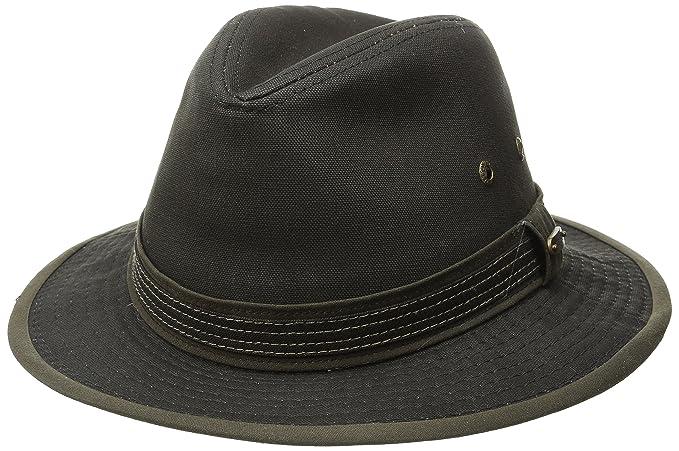 Stetson Men s Cotton Canvas Safari Hat at Amazon Men s Clothing store  b38fc9c20eb4