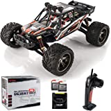 BEZGAR 8 Hobbyist Grade 1:12 Scale Remote Control Truck, 2WD High Speed 42 Km/h All Terrains Electric Toy Off Road RC…