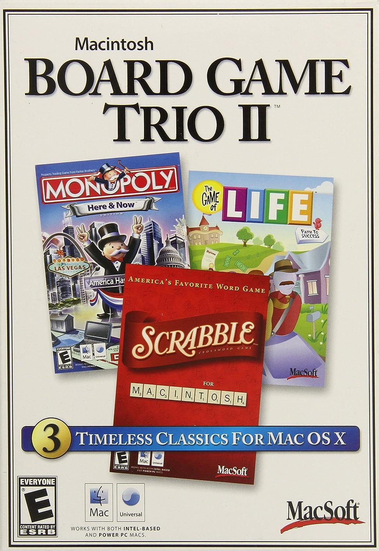 Mac Board Game Trio II by Destineer: Amazon.es: Videojuegos