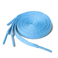 Shoe laces Flat Coloured Trainers Hi-tops Football Boots Laces Shoelaces New Suitable for all brands including Nike Adidas Converse Puma Vans Reebok Adults or Kids