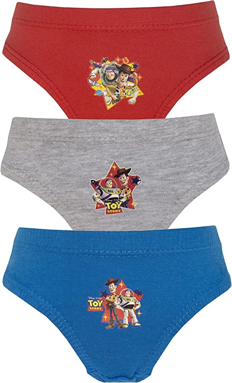 Disney Toddlers /& Boys Cars Hipster Briefs Pants Set 3 Pair Pack