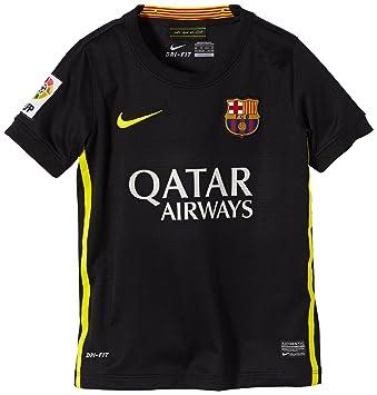 Nike F.C. Barcelona - Camiseta de fútbol, 3ª equipación, 2013-14 Black/