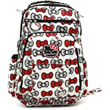 Ju-Ju-Be Hello Kitty Collection Be Right Back Backpack Diaper Bag, Peek A Bow