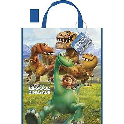 "Large Plastic The Good Dinosaur Favor Bag, 13"" x 11"": Toys & Games"