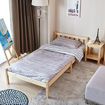 Pin Blanc En Bois Cadre De Lit Simple Lit Double Single Bed Vert