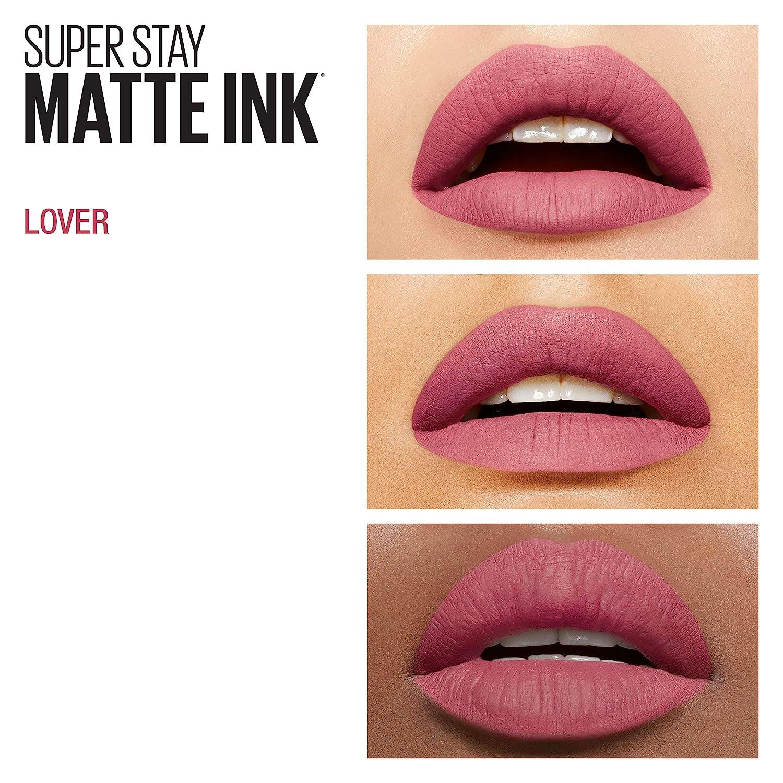 Amazoncom Maybelline Superstay Matte Ink Lipstick 15 Lover 5ml