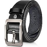 Men's belt, OVENERSIN Genuine Leather Causal...