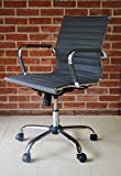 Grey Designer Timeless Computer Contemporary Reception Meeting Office Chair - Chair Outlet