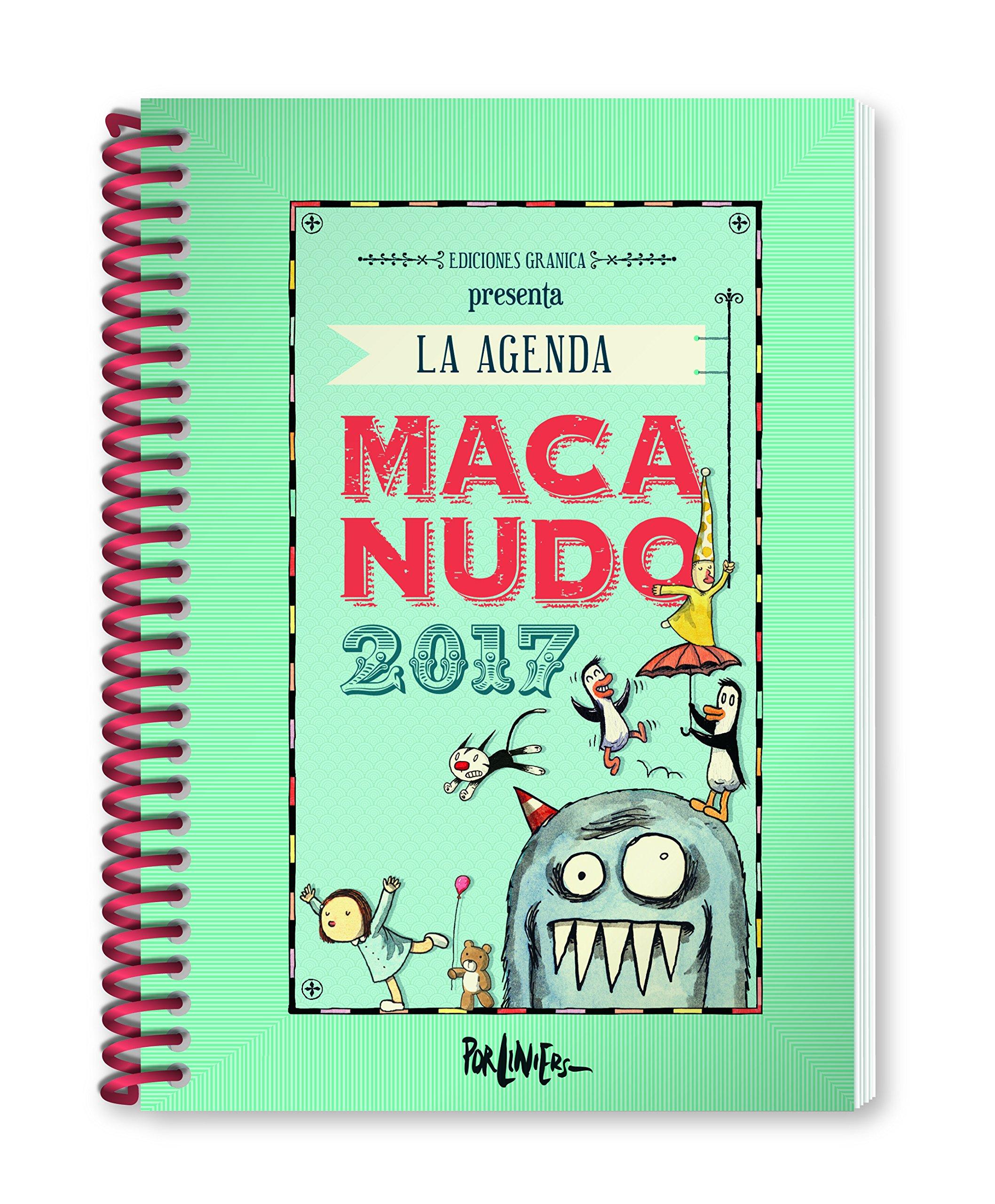 Macanudo 2017 Agenda anillada - Personajes (Spanish Edition ...