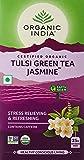 Organic India Tulsi Green Tea, Jasmine, 25 Tea Bags
