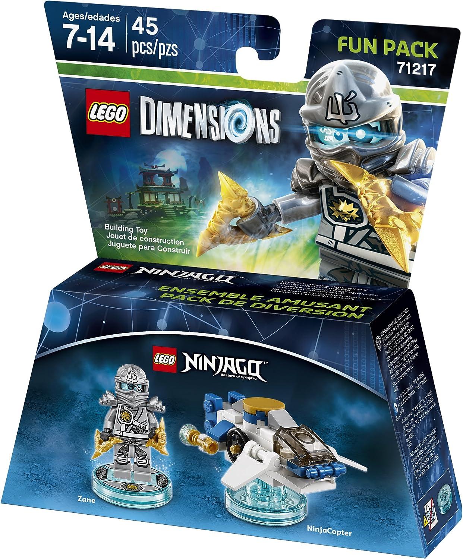 Ninjago Zane Fun Pack - LEGO Dimensions by Warner Home Video - Games: Amazon.es: Juguetes y juegos