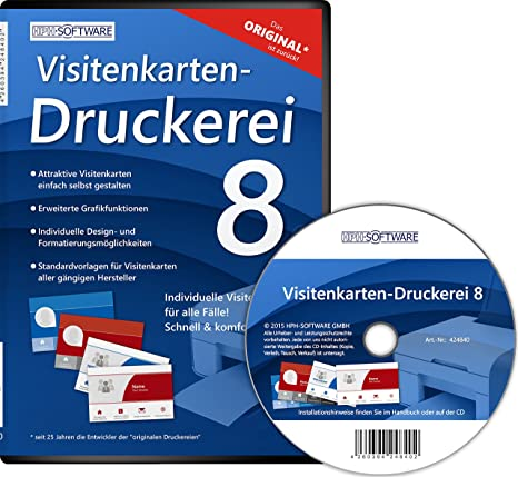 Visitenkarten Druckerei 8