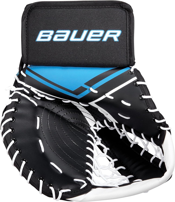 Bauer Junior Inline Hockey de Gardien de But Main Gants pour Hockey Floor Football De Rue de p/êche Sport et Les Loisirs M