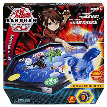40b82f7f3e Amazon.com: Bakugan Battle Arena, Game Board Collectibles, for Ages 6 and  Up: Toys & Games