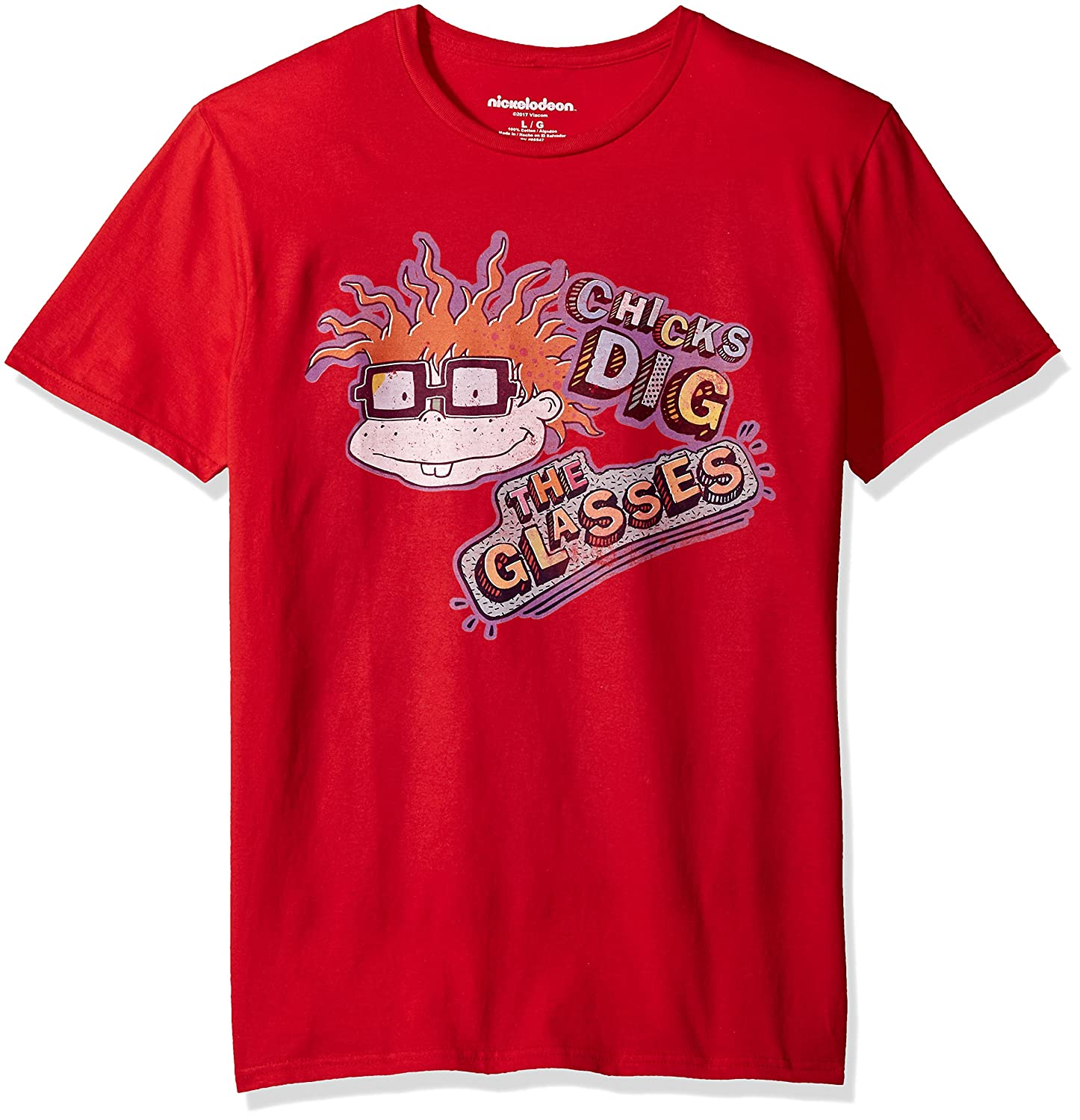 5c50e3cea4ae Nickelodeon Men's Rugrats Short Sleeve Graphic T-Shirt | Amazon.com