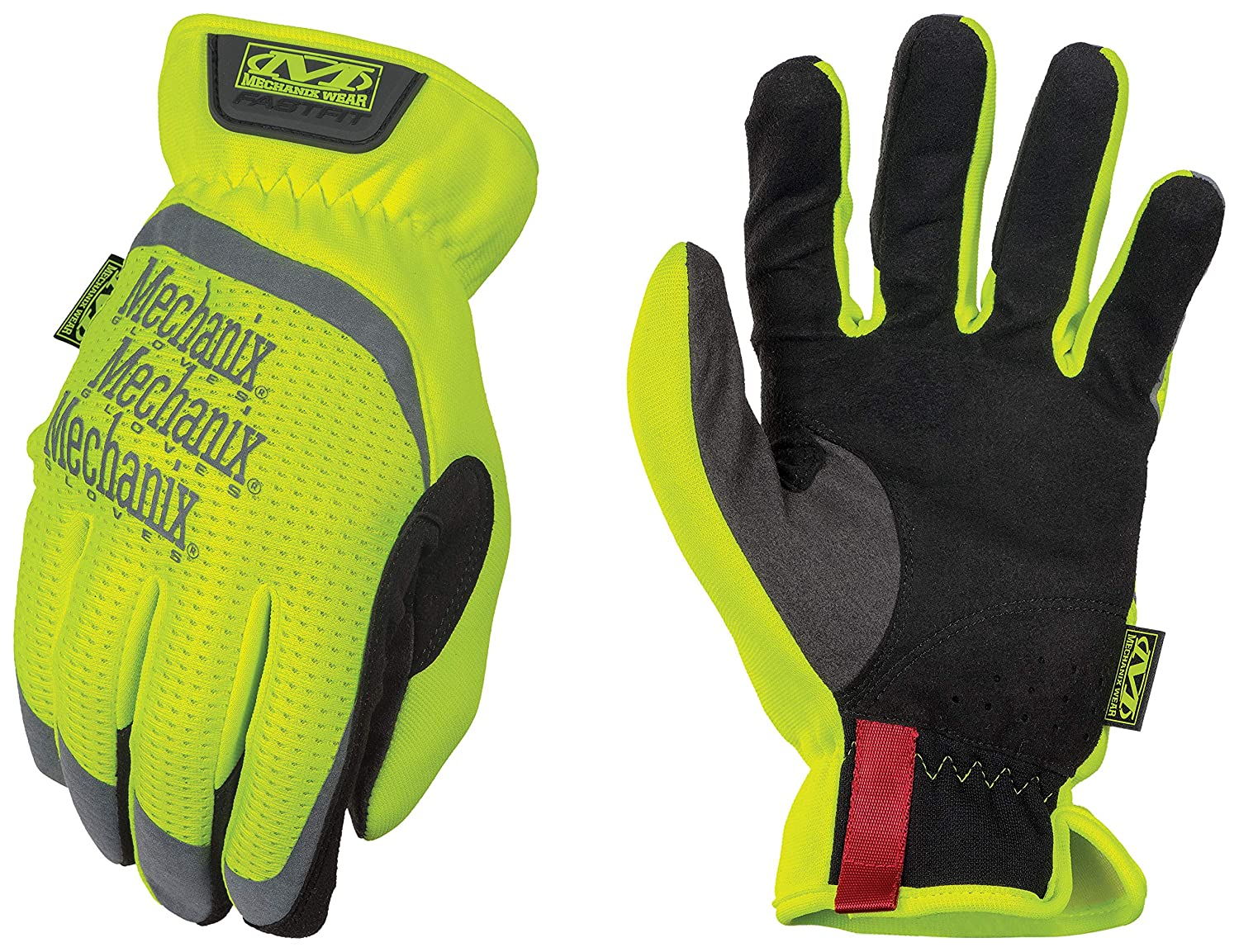 Mechanix Wear - Hi-Viz FastFit Gloves (Medium, Fluorescent Yellow) SFF-91-009