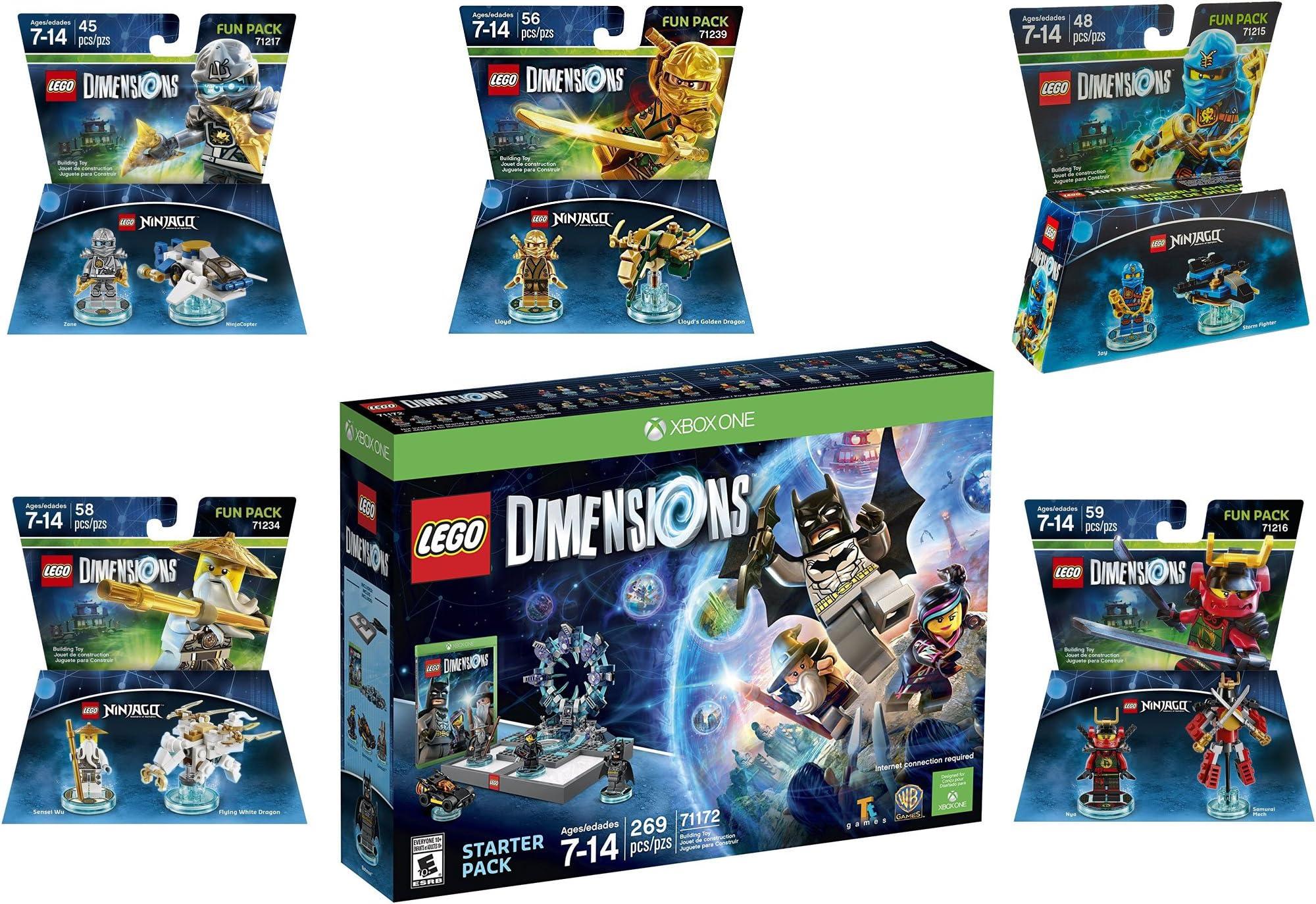 Amazon.com: Lego Dimensions Ninjago Starter Pack + Jay + ...