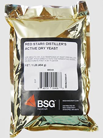 Distillers Active Dry Yeast - Red Star DADY 1 lb pack