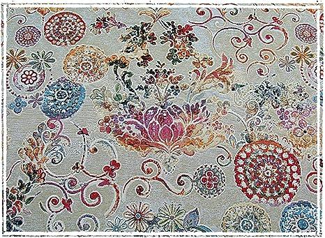 Barroco plástico tapiz plástico Jacquard Tela Vintage plástico ...