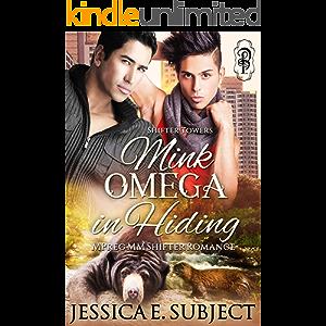 Mink Omega in Hiding: An MM Mpreg Shifter Romance (Shifter Towers Book 2)