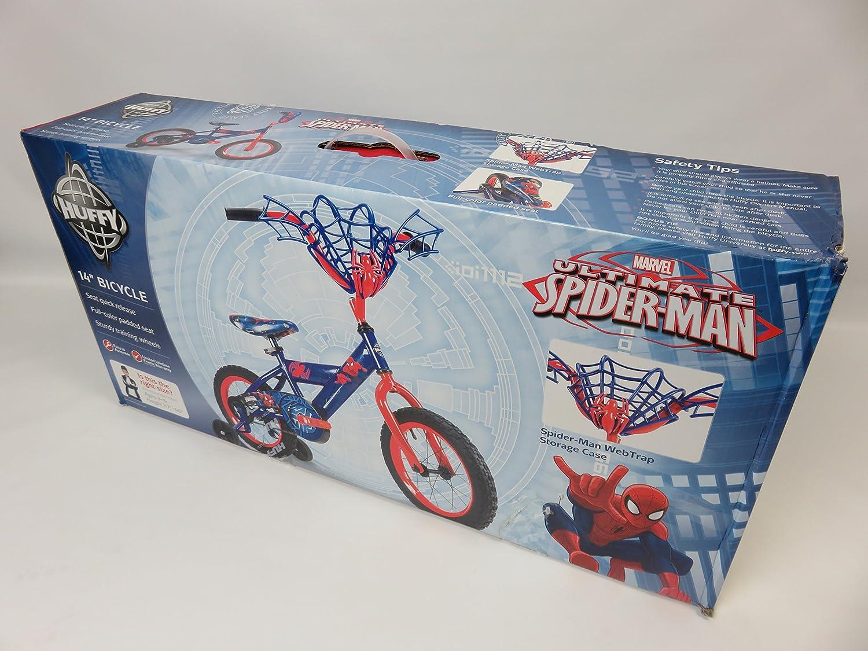 Amazon.com: Huffy Spider-Man bicicleta 14