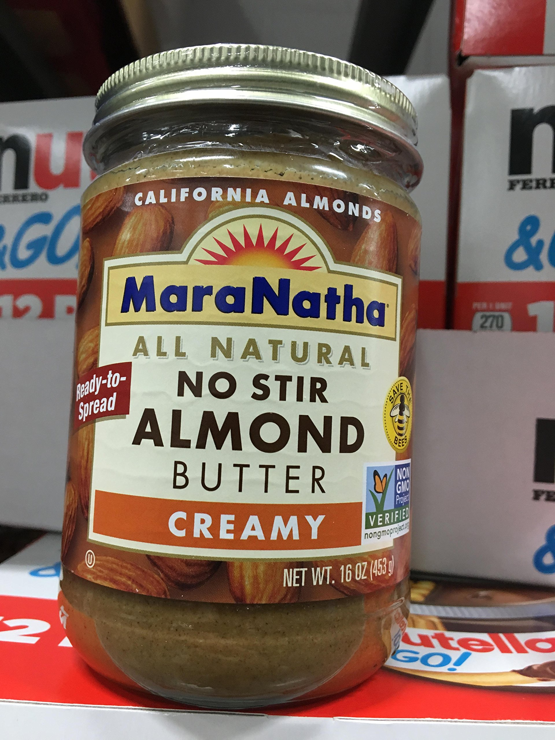 MaraNatha All Natural No Stir Almond Butter Creamy 16 oz