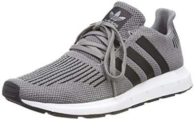 adidas Originals Swift Run, Mens Low-Top Sneakers, Gray (Gritre/Negbás