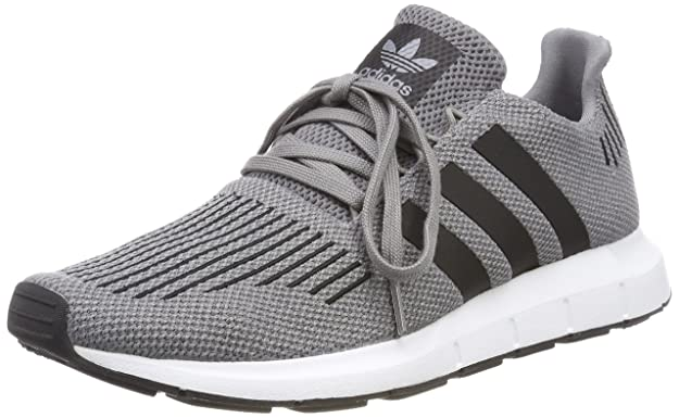 Amazon.com | adidas Originals Swift Run, Mens Low-Top Sneakers, Gray (Gritre/Negbás/Brgrin 000), 11.5 UK (46.2/3 EU) | Road Running