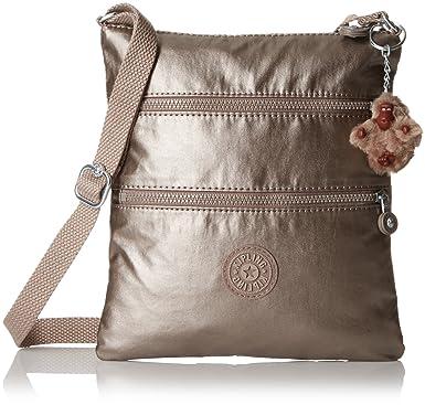 Kipling Keiko Gm Crossbody, Metallic Pewter  Handbags  Amazon.com f383bf3dd6