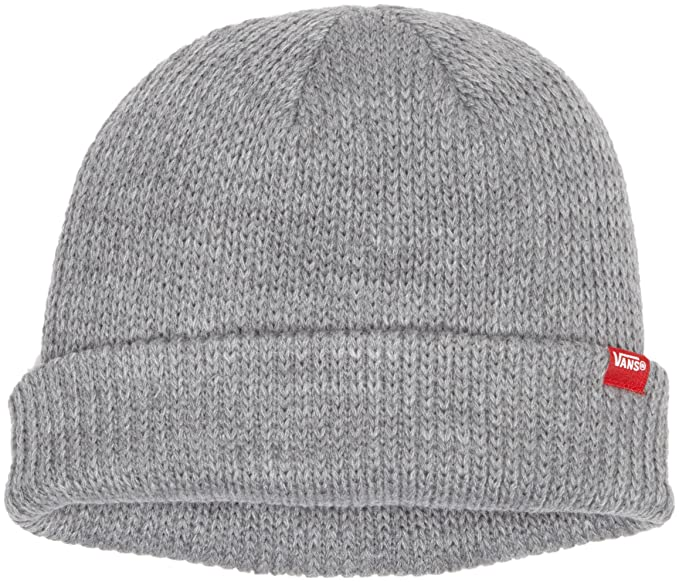 e63e6b3965 Vans Men s s Core Basics Beanie Hat Heather Grey One Size  Vans  Amazon.co.uk   Clothing