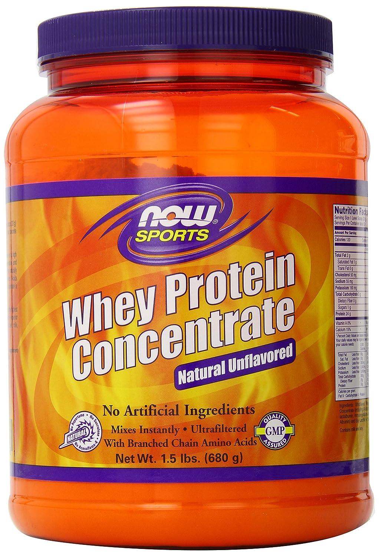 海外直送品Now Foods Whey Protein Concentrate, Unflavored 1.5 lbs B00KYKLQ3Q