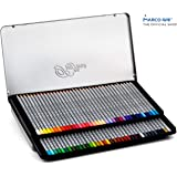 [Marco Official Shop]Raffine 72 Colored Pencils Metal Box, Hexagonal, 3.3mm Lead, Extra Protection Packaging, D7100-72