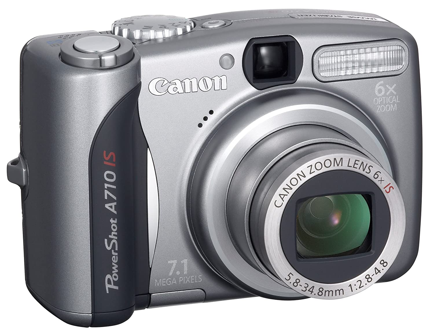 amazon com canon powershot a710 is 7 1mp digital camera with 6x rh amazon com