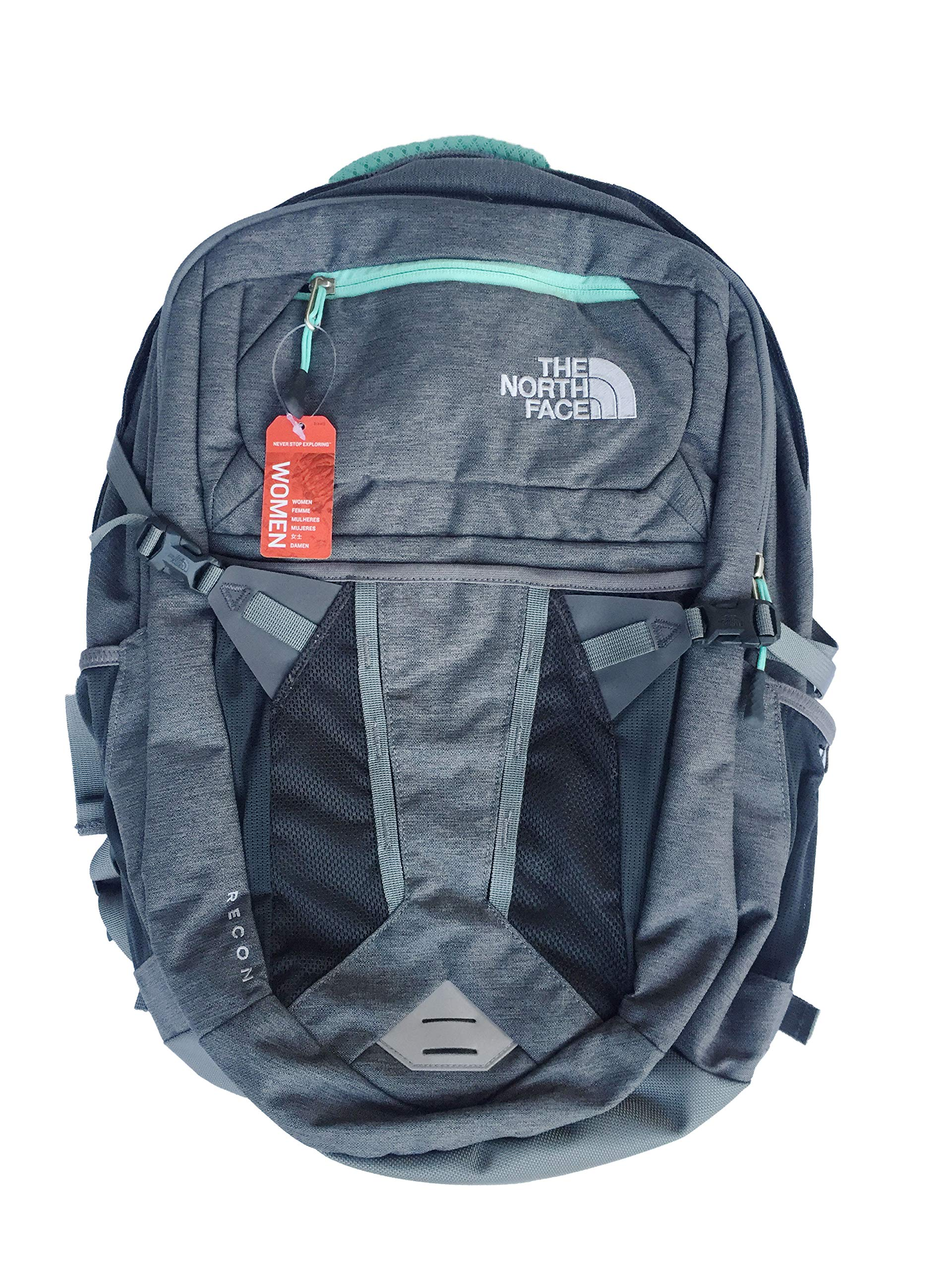 The North Face Recon Backpack Grey Mint