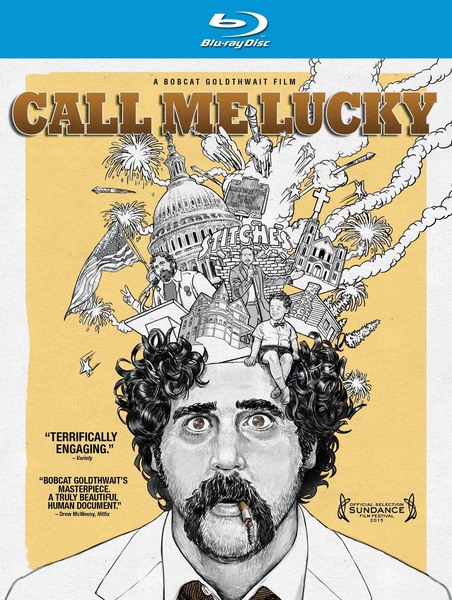 Blu-ray : Call Me Lucky (Blu-ray)