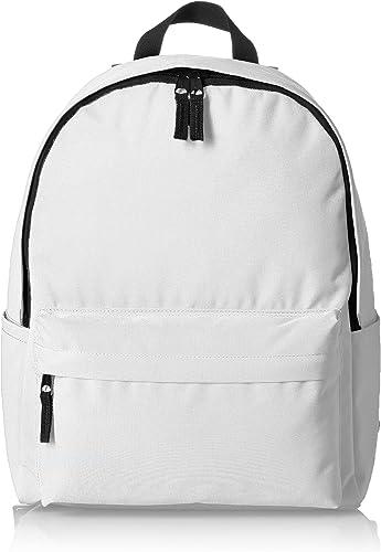 AmazonBasics Classic Backpack, White – 4-Pack