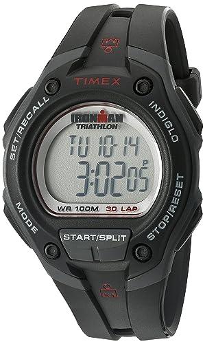 84ae91ceb466 Timex T5K417 - Reloj digital con correa de resina para hombre