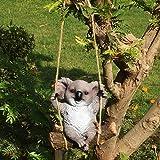 Wonderland Garden Animals on Swing (Koala On Swing)