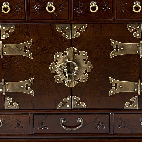 Amazon.com: Oriental Muebles coreano 49 cajón Apothecary ...