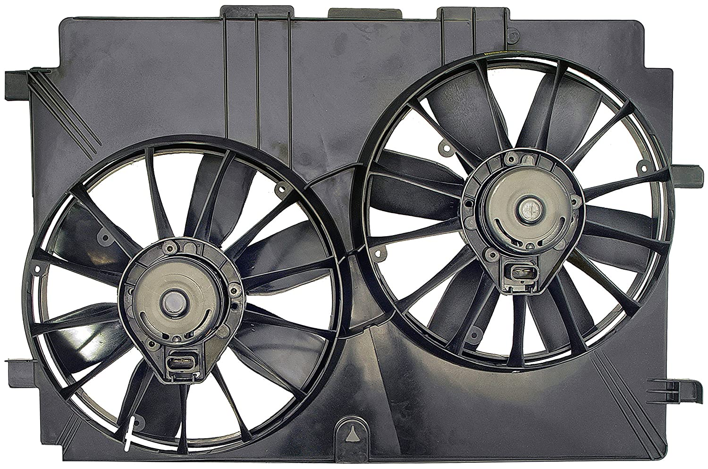 Dorman 620 634 Radiator Dual Fan Assembly Automotive Flexalite Electric Black Magic Series Coximportcom A