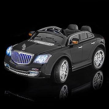 Amazon.com: SPORTrax Maybach Style Luxury Kid's Ride On Car, Battery ...