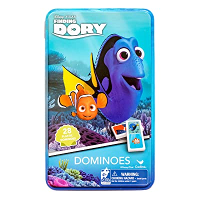 Finding Dory Dominoes Tin: Toys & Games